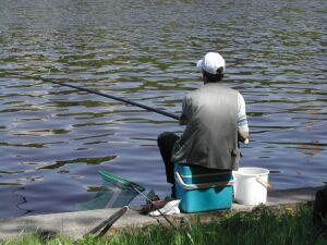 городской рыбак