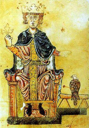Император Священной Римской империи Фридрих II Гогенштауфен