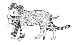 кошка под знаком овен