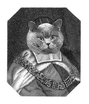 кот, мышелов Ее Величества