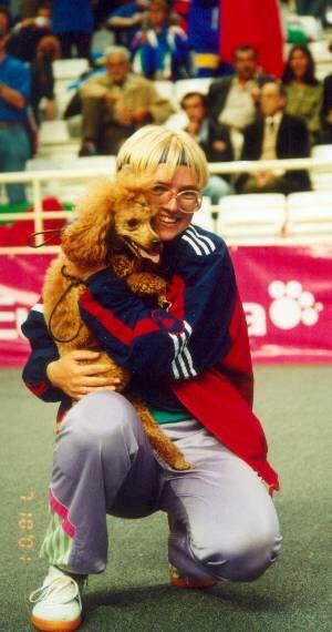 Елена Клокова - чемпионка мира по аджилити