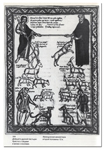 Добрый и дурной пастыри: Христос с овцами и монах с козлами