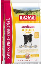 BiOMill - экологически чистый корм для собак и кошек. Medium%20ADULT