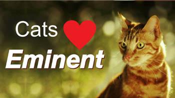 Eminent, сухие корма для кошек